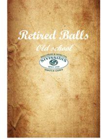 Retired balls