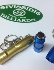 Συντήρηση Στέκας Μπιλιάρδου. Επώνυμα επαγγελματικά αξεσουάρ για παίκτες μπιλιάρδου από την εταιρεία Αφοί Σιβισίδη / Sivissidis Bros.